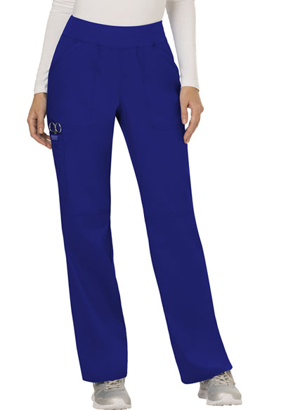 WW Revolution Women's Mid Rise Straight Leg Pull-on Pant Blue