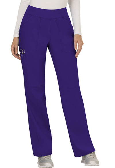 WW Revolution Women's Mid Rise Straight Leg Pull-on Pant Purple