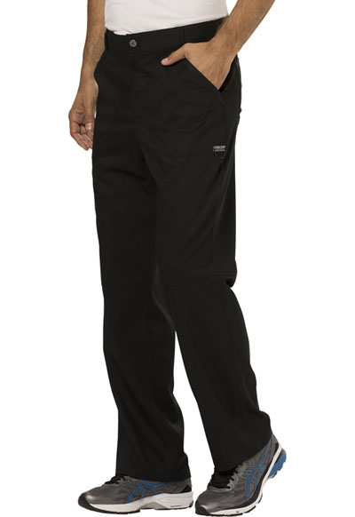 f7109243922 WW Revolution Men's Fly Front Pant in Black WW140-BLK from AAA Uniforms