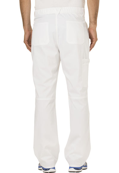 2ae0b4deec4 WW Revolution Men's Fly Front Pant in White WW140-WHT from Image Experts