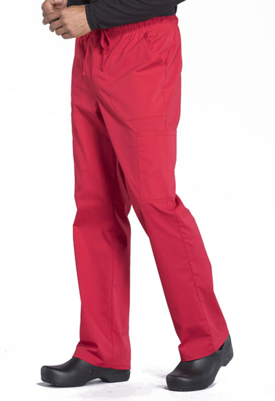 Grape Cherokee Scrubs Workwear Professionals Mens Drawstring Pants WW190 GRP