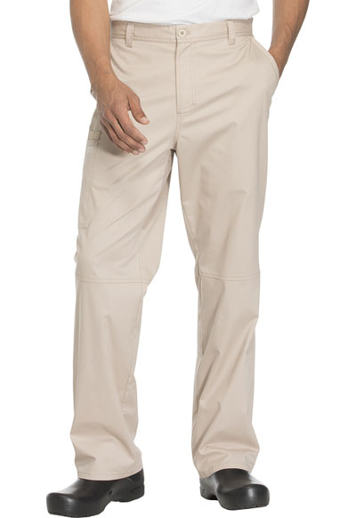 WW Core Stretch Men Men's Fly Front Pant Khaki