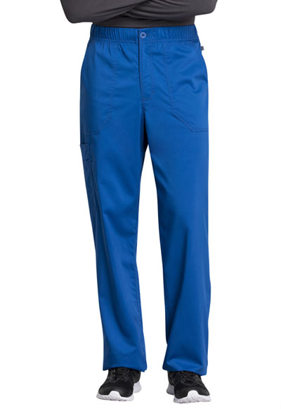 WW Revolution Tech Men Men's Mid Rise Straight Leg Zip Fly Pant Blue