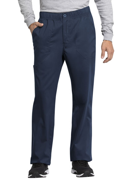 WW Revolution Tech Men's Men's Mid Rise Straight Leg Zip Fly Pant Blue