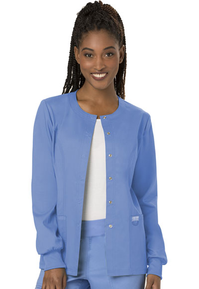 WW Revolution Women Snap Front Jacket Blue