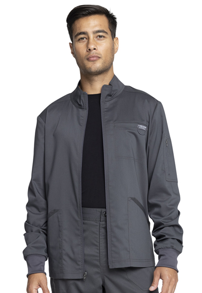 WW Revolution Men Men's Zip Front Jacket Gray
