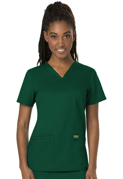 WW Revolution Women's V-Neck Top Green