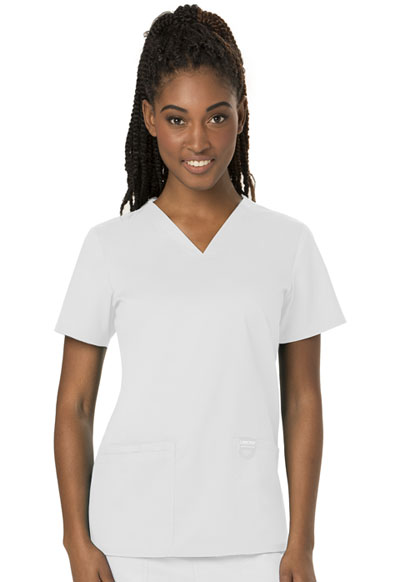 WW Revolution Women V-Neck Top White