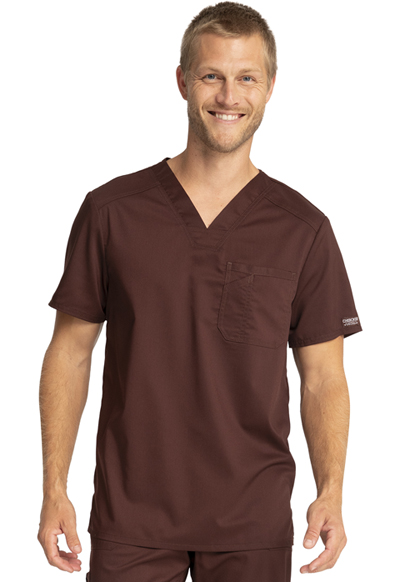 WW Revolution Men's Men's V-Neck Top Brown