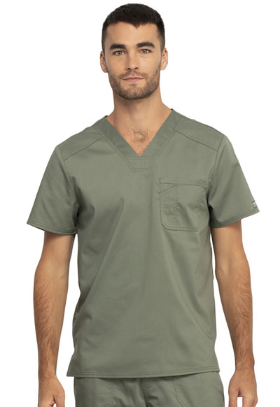 WW Revolution Men Men's V-Neck Top Green