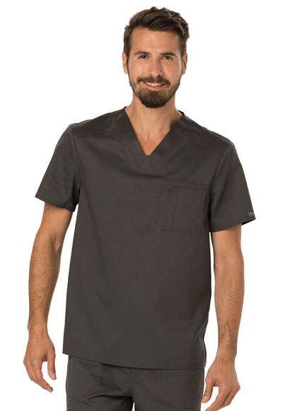 WW Revolution Men's Men's V-Neck Top Gray