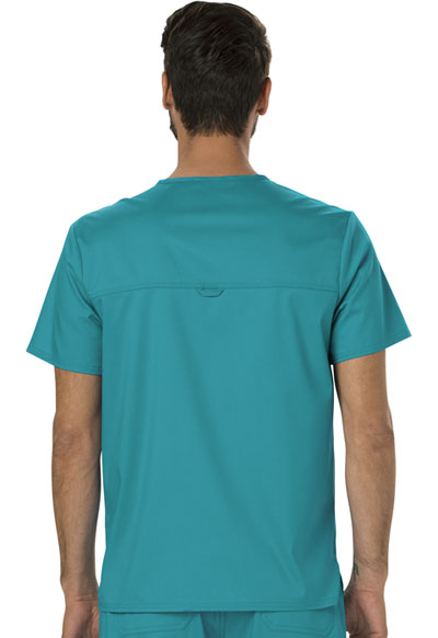 7a5bcf6c5cb WW Revolution Men's V-Neck Top in Teal Blue WW690-TLB from Cesar's ...