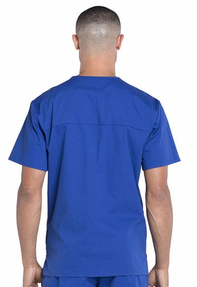 1c06601c616 Photograph of WW Professionals Men's Men's V-Neck Top Blue WW695-GAB