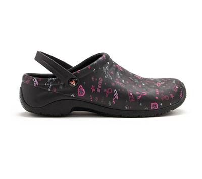 Clog Women ZONE Love Hope Cure (Wide)