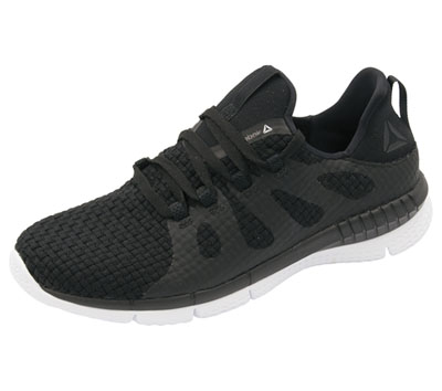 Reebok Women's ZPRINTHER Black on White