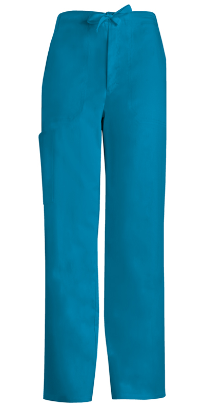 Luxe Men's Men's Fly Front Drawstring Pant Blue