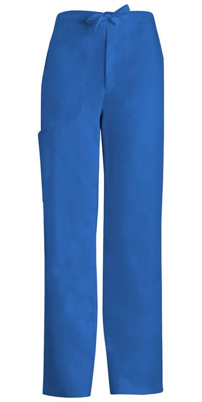 Cherokee Luxe Men's Men's Fly Front Drawstring Pant Blue