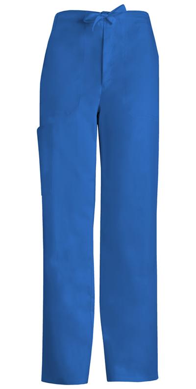Cherokee Luxe Men's Men's Fly Front Drawstring Pant Blue