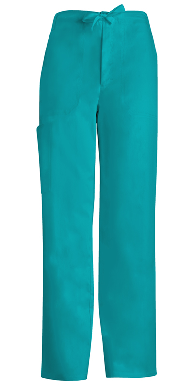 Luxe Men's Men's Fly Front Drawstring Pant Green