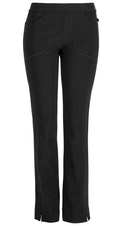 Cherokee Womens Curved-Pocket Slim Pull-on Pant,1124AP