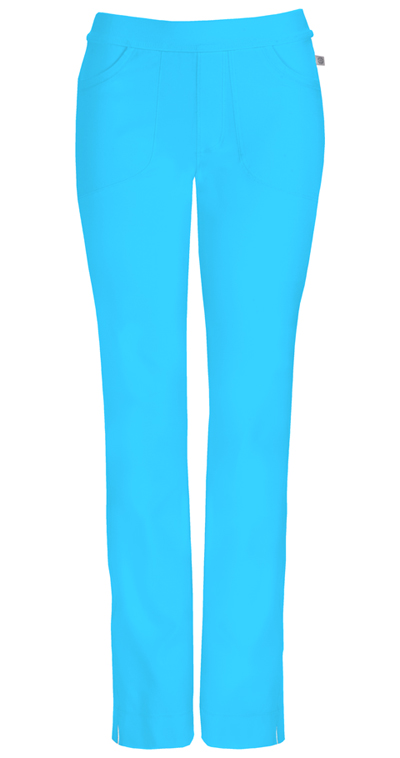 3c23daeca65 Photograph of Infinity Women's Low Rise Slim Pull-On Pant Blue 1124A-TRQ