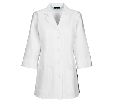 Cherokee Whites Women's 30 3/4 Sleeve Lab Coat White