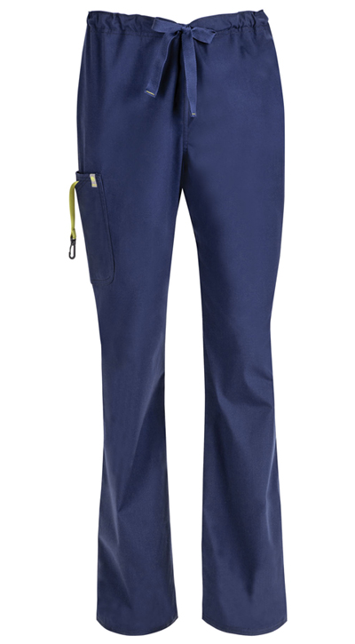 Code Happy Bliss Men's Men's Drawstring Cargo Pant Blue