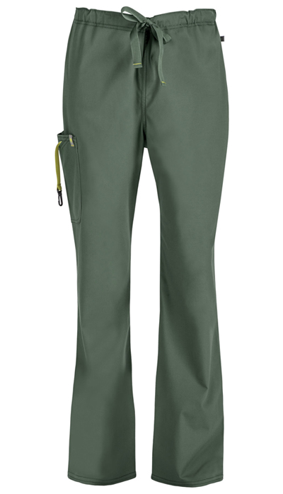 Code Happy Bliss Men's Men's Drawstring Cargo Pant Green