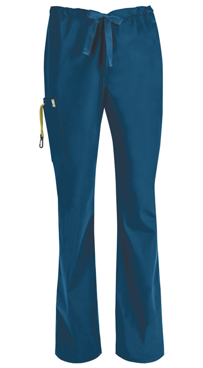 Bliss Men Men's Drawstring Cargo Pant Blue