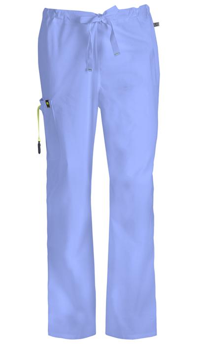 Code Happy Bliss Men's Men's Drawstring Cargo Pant Blue