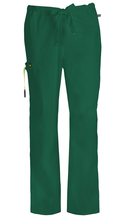 Bliss Men's Men's Drawstring Cargo Pant Green