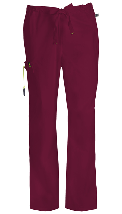 Bliss Men's Men's Drawstring Cargo Pant Purple