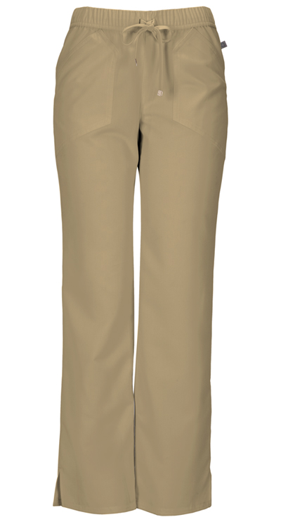 Head Over Heels Women's Drawn To You Low Rise Drawstring Pant Khaki