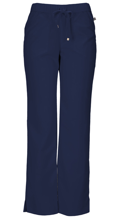 Head Over Heels Women's Low Rise Drawstring Pant Blue
