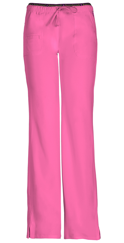 Break on Through Women's Heart Breaker Low Rise Drawstring Pant Pink