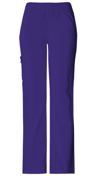 999365ce824 Photograph of Flexibles Women's Mid Rise Knit Waist Pull-On Pant Purple 2085 -GRPB