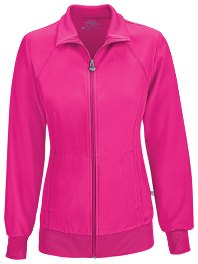 Infinity Women's Zip Front Warm-Up Jacket Pink