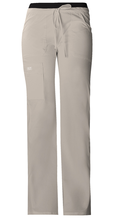 WW Core Stretch Women's Low Rise Drawstring Cargo Pant Khaki