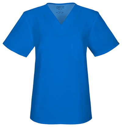 Workwear WW Flex Unisex Unisex V-Neck Top Blue