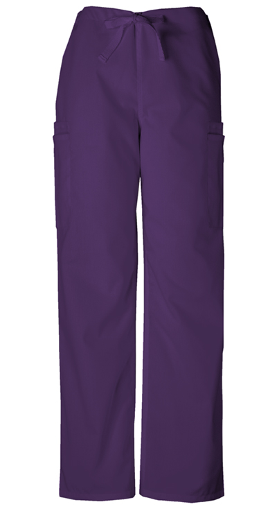 WW Originals Men's Men's Drawstring Cargo Pant Purple