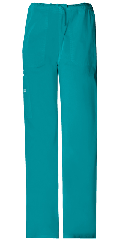 Cherokee Workwear WW Core Stretch Unisex Unisex Drawstring Cargo Pant Green