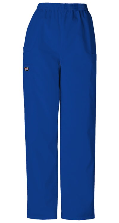 7ef93b10f1 Photograph of WW Originals Women's Natural Rise Tapered Pull-On Cargo Pant  Blue 4200-