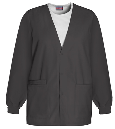 c0ac2435e72 Photograph of WW Originals Women's Cardigan Warm-Up Jacket Black 4301-BLKW