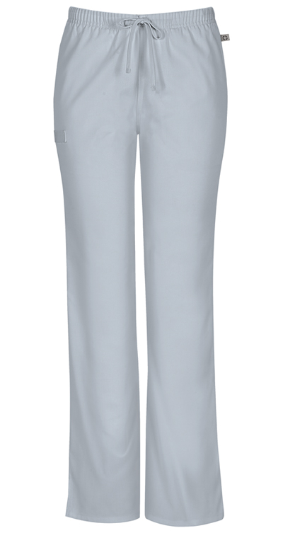 6c3a738aa82 WW Flex Mid Rise Moderate Flare Drawstring Pant in Grey 44101AT-GRYW ...