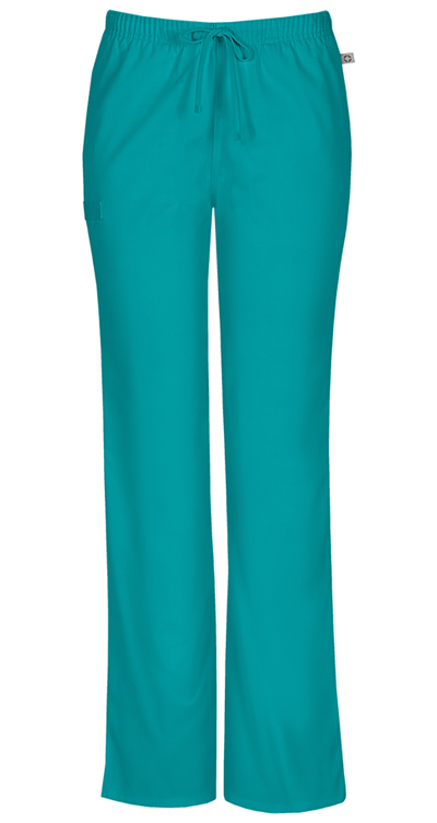 Workwear WW Flex Women's Mid Rise Moderate Flare Drawstring Pant Green