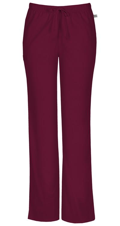 WW Flex Women's Mid Rise Moderate Flare Drawstring Pant Purple