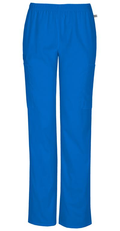 cb5d8e3a913 WW Flex Mid Rise Straight Leg Elastic Waist Pant in Royal 44200A ...