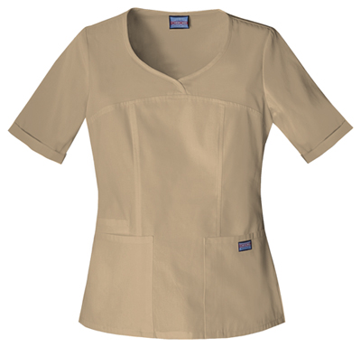WW Originals Women V-Neck Top Khaki
