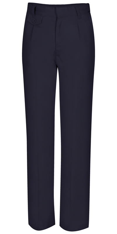 Classroom Uniforms Classroom Girl's Girls Plus Pleat Front Pant Blue