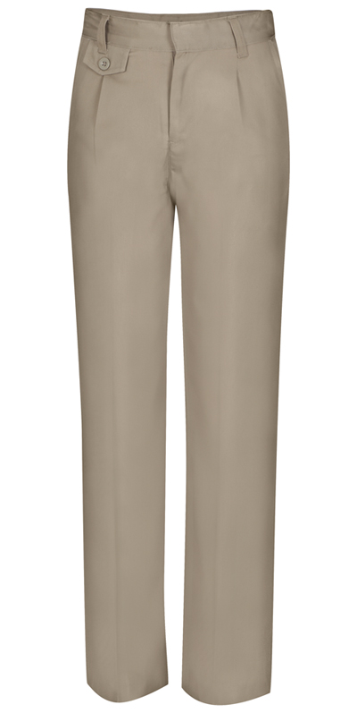 Classroom Uniforms Classroom Junior's Juniors Pleat Front Pant Khaki